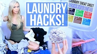 17 Laundry Hacks EVERYONE Should Know!