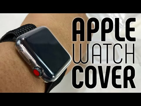 Clear TPU Apple Watch Case and Screen Protector by Zhuoshu Review