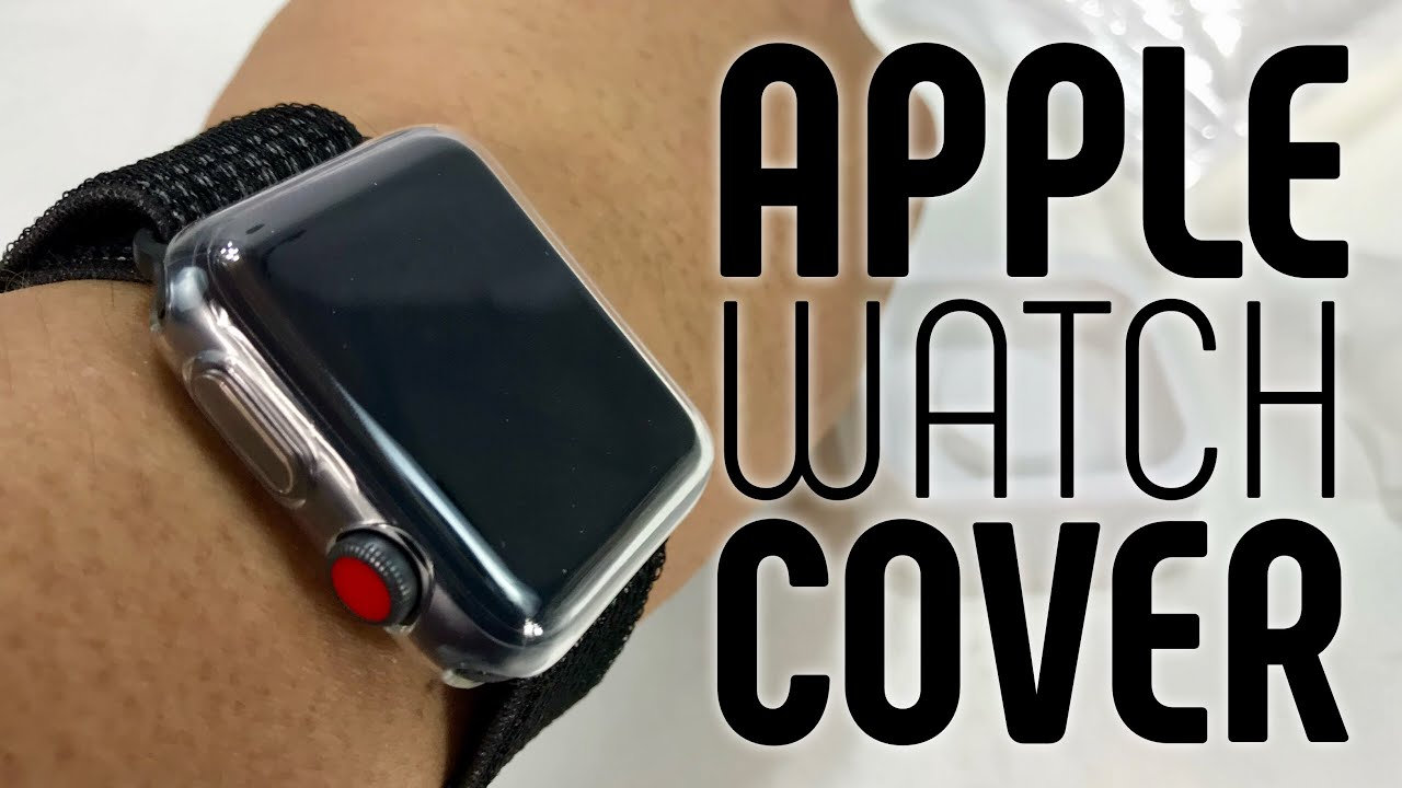 quality design 2ef2c 6c423 Clear TPU Apple Watch Case and Screen Protector by Zhuoshu Review