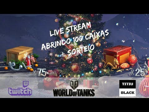 WOT - Opening 100 Holiday Ops Box 2017 (World of Tanks)