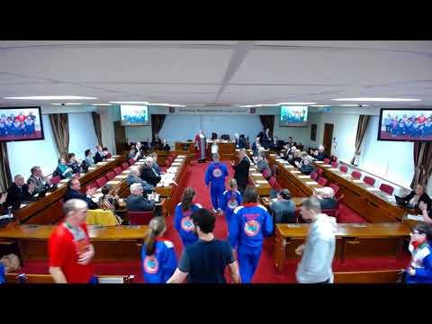 Council meeting, 24 January, 2018