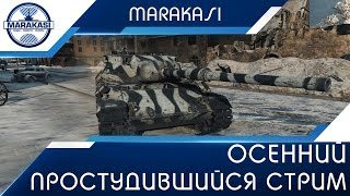 Осенний простудившийся стрим + халява World of Tanks