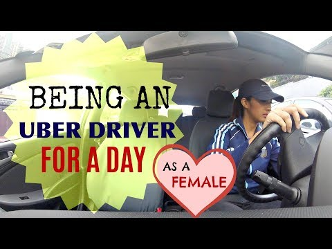 Thumbnail: HOW TO BE A FEMALE UBER DRIVER
