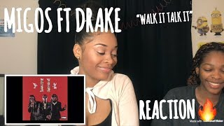 Migos Ft. Drake - Walk it Talk it REACTION