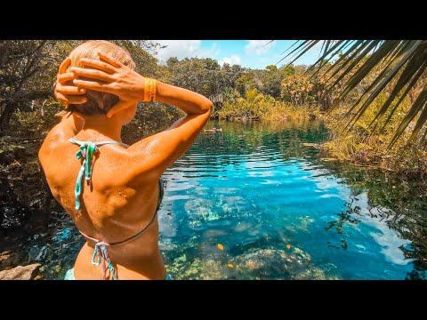 😱 ¡Este Lugar NOS VOLVIÓ LOCOS! Cenote en Tulum