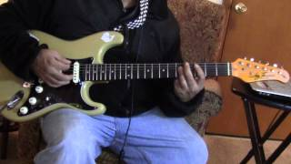 Just my imagination cover guitar play along The Temptations