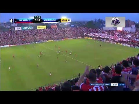 San Martín de Tucumán 3 vs Agropecuario 0 - Resumen Completo - B Nacional