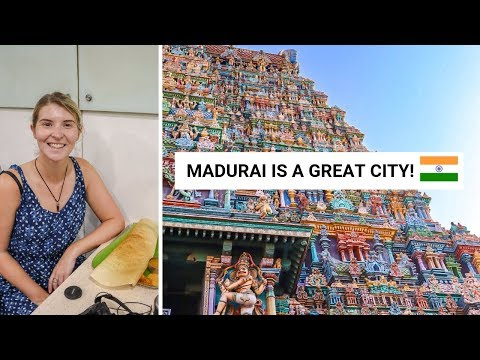 MADURAI - THE TEMPLE, PALACE, BANANA'S, IDLI & DOSA HUNT! I loved it! | Madurai Vlog