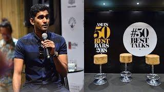 Vijay Mudaliar from Native bar Singapore at #50BestTalks