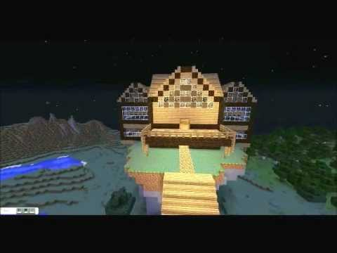 Minecraft quicky epic hill top house youtube for Epic house music