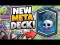 INSANE NEW TOP META GRAVEYARD ICE WIZARD DECK Clash Royale NEW BEST GRAVEYARD DECK mp3