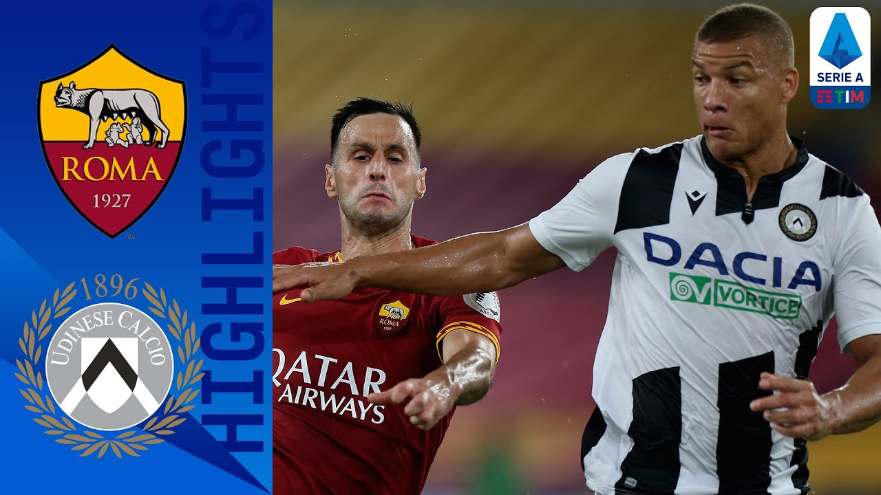 Roma 0 2 Udinese Big Win For Udinese Against Roma At The Olimpico Serie A Tim Youtube