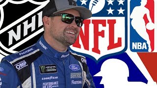 NASCAR Drivers BATTLE The NFL, NBA, NHL, and MLB