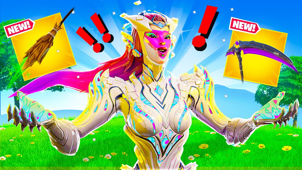 NEW CUBE QUEEN BOSS & MYTHIC WEAPONS in Fortnite