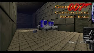 GoldenEye 007 N64 - Secret Base - 00 Agent (Custom level)