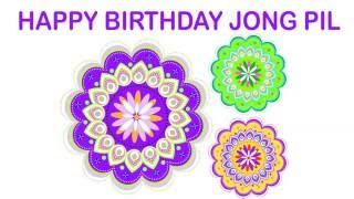 JongPil   Indian Designs - Happy Birthday