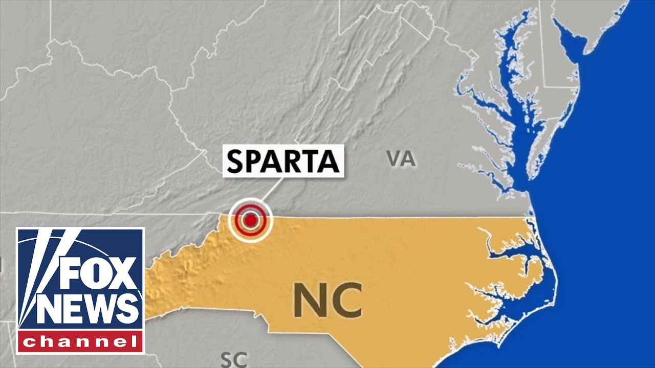 North Carolina, Virginia rocked by most powerful earthquake in ...