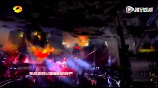 20121231湖南衛視跨年演唱會-張杰《逆戰》-1.avi