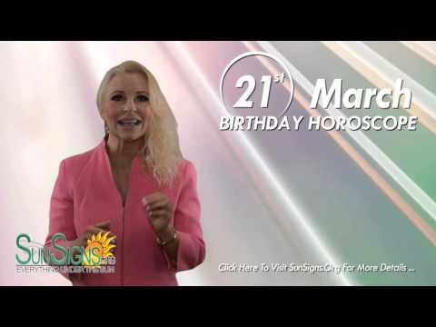 Birthday March 21st Horoscope Personality Zodiac Sign Aries Astrology