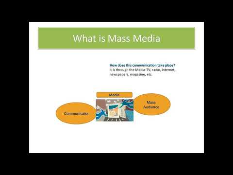 What Is Mass Communication And Mass Media