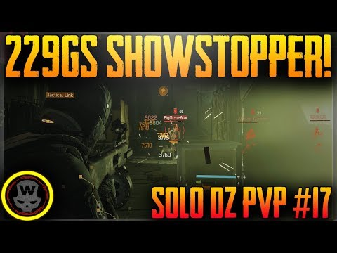 SHOWSTOPPER & CASSIDY! SOLO DZ PVP #17 (The Division 1.7)