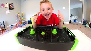 FATHER SON MINI AIR HOCKEY!