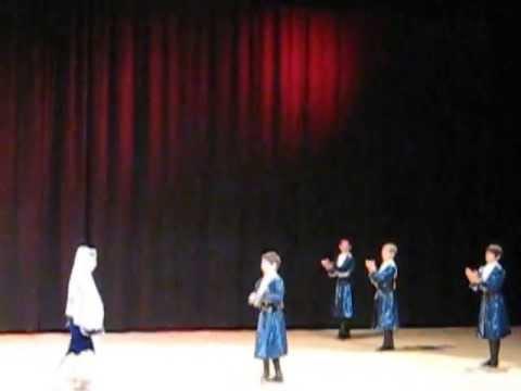ABAZA - APSUA KUAŞARA : Abhazya Devlet Halk Dansları Çocuk Grubu [Beylikdüzü 22.04.2013]