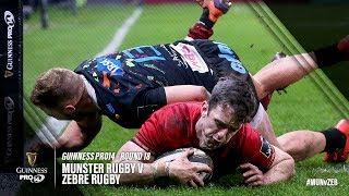Guinness PRO14 Round 18 Highlights: Munster Rugby v Zebre Rugby