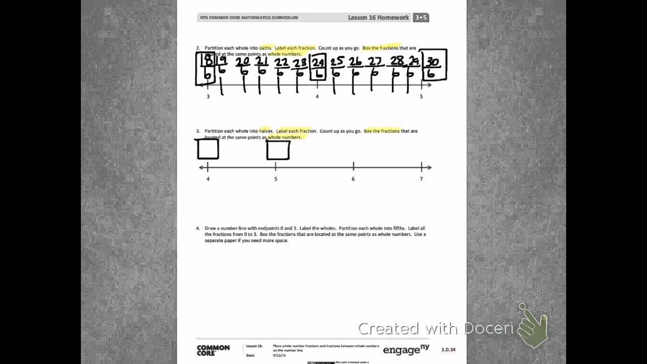 Engage Ny Third Grade Module 5 Lesson 16 Back Youtube