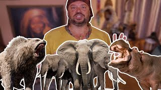 OS 10 ANIMAIS MAIS PERIGOSOS DO MUNDO! | PARTE 1 | RICHARD RASMUSSEN