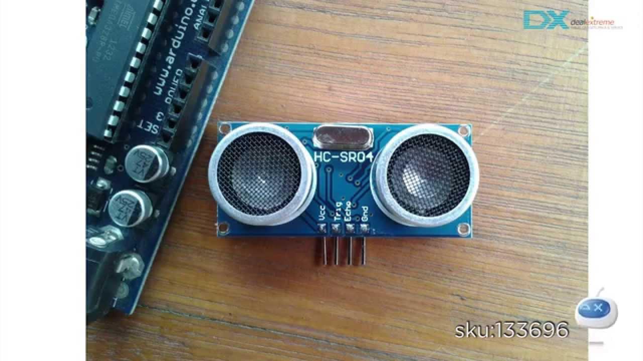 Dx Hc Sr04 Ultrasonic Sensor Distance Measuring Module Youtube Datasheet