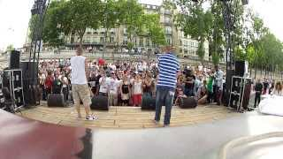 Faya Braz & Yoshi aka The Beat & The Voice - Live @ Paris Hip-Hop 2013