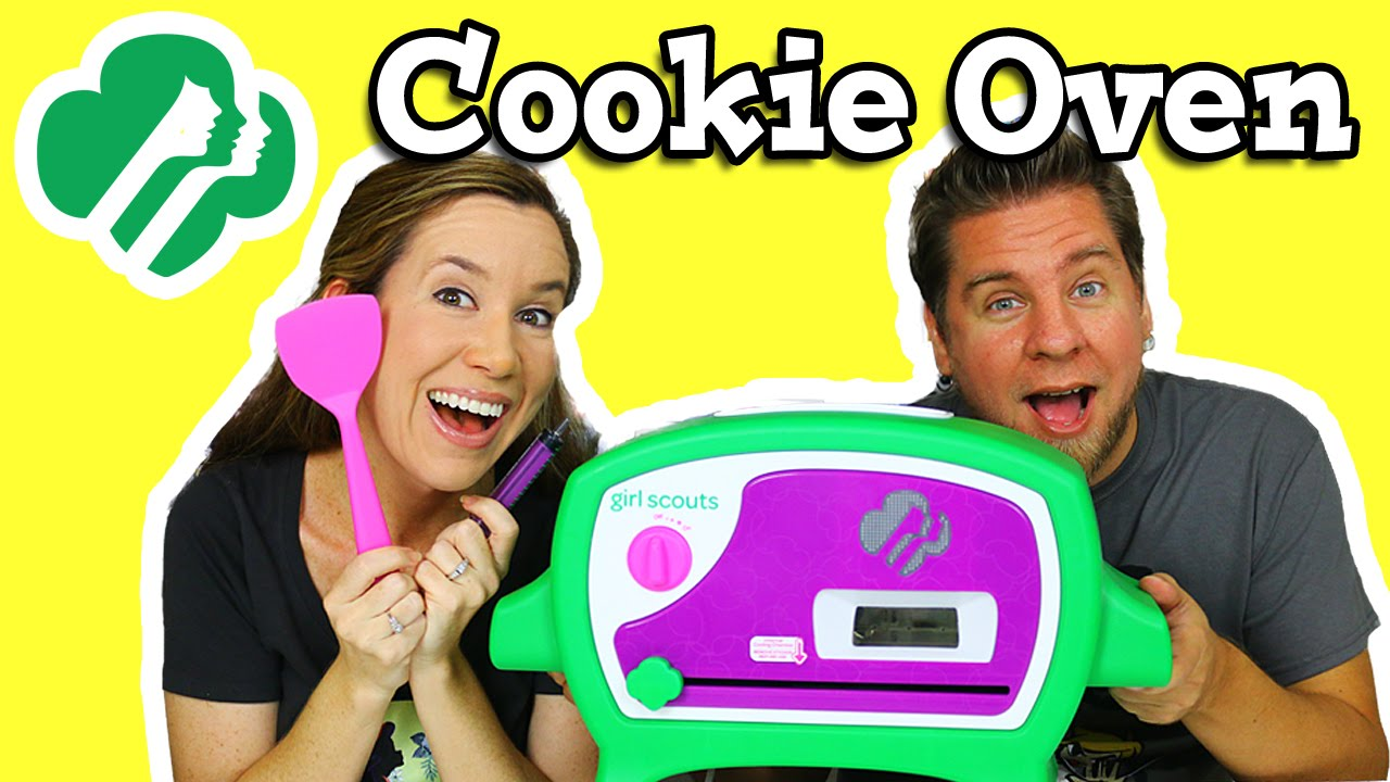 Girl Scouts Cookie Oven - Making Thin Mints - YouTube
