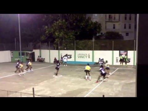 St.Vincent National netball opening match. Windward All Stars vs Leeward All Stars 50-49