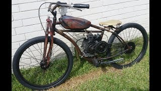 How To Build Rat Bobber Motorized Bicycle Part 1