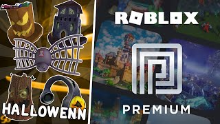 NEW HALLOWEEN ROBLOX 2019 ITEMS! & PREMIUM I ARRIVE AT ROBLOX!
