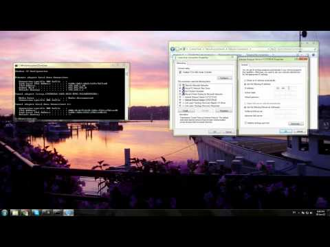 How To Get A Static IP Address In Windows 7