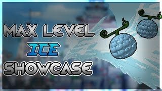Hie/Ice Full Showcase - Steve's One Piece - Roblox - Max Level! - FT. Sqtker