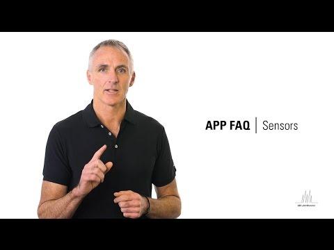 Sensors - JetBlack App FAQ