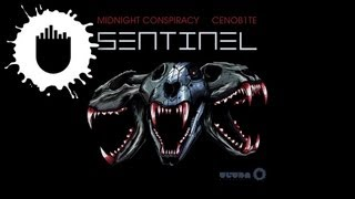 Midnight Conspiracy and CENOB1TE - Sentinel (Cover Art)