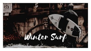 SURF IN WINTER - TRAVEL VLOG
