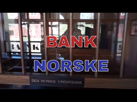 1min| Vintage BANK from Cristiania - Oslo