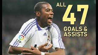 Robinho All 47 Goals & Assists For Real Madrid