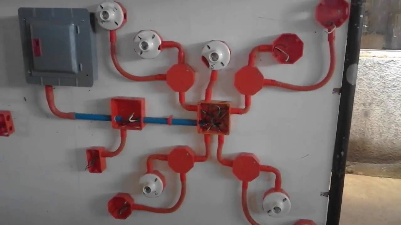 Wiring Wiring For Beginners Electrical Installation Simple Wiring Of