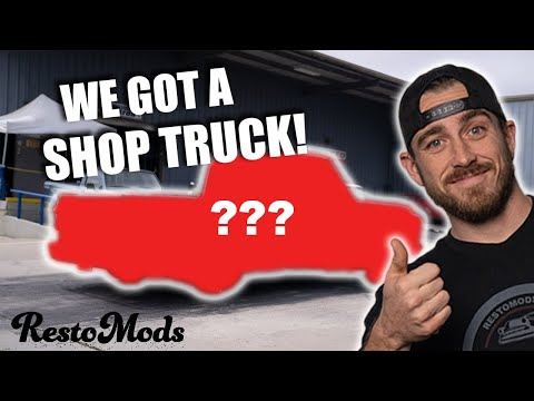 RestoMods Goes Shop Truck Hunting | WE BOUGHT A SHOP TRUCK