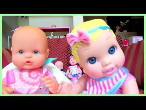 Baby Nursery Playset for Baby Dolls Food Feeding Velcro Cutting Fruits Vegetables