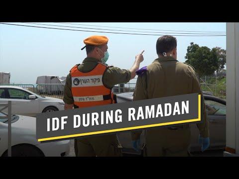 IDF Helps Israeli Muslims Prepare For Ramadan