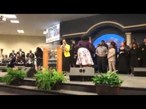 "The Voices Of Triumph Singing ""Shout"" - Lead By Olevia Williams"