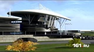 Стадион к ЧМ-2018: 3D-модель