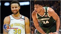 Steph Curry or Giannis Antetokounmpo: Who is better to build a team around?   NBA Countdown
